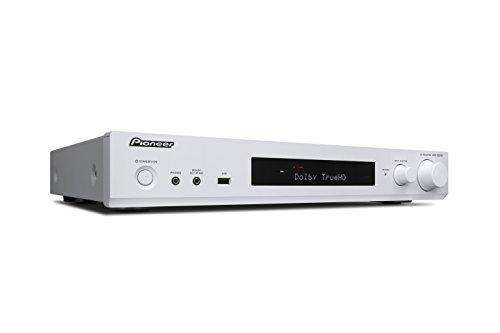 Pioneer VSX-S 520 D-W Slimline AV Receiver (80W pro Kanal, vielfältige Streaming Möglichkeiten, WiFi und Bluetooth, DAB+, HDCP 2.2, AppControl, benutzerfreundliche Fernbedienung) - 6-kanal-verstärker Pioneer