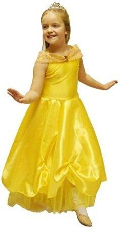 CL COSTUMES World Book Tag-Märchen-Schönheit & die Tier-Cinderella ALT Prinzessin Belle Kostüm - Alle Altersgruppen - Wie abgebildet, 11-12 (Cinderella Kostüm Für Teenager)