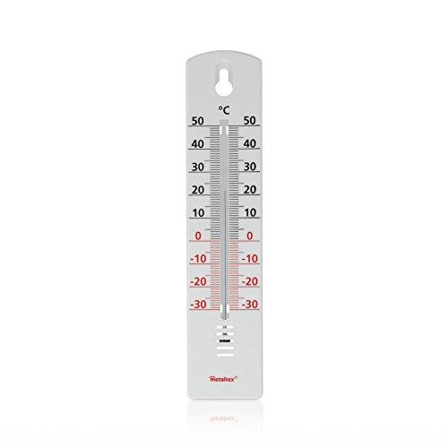 Metaltex 794214 Thermomètre, Autre, Argenté, 10 x 280 x 68 cm