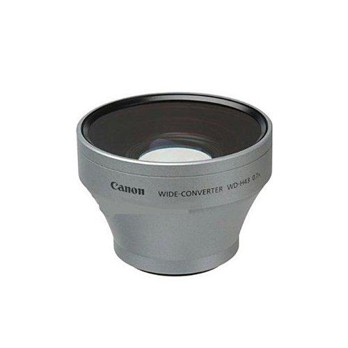 Canon WD-H43 Weitwinkelkonverter HV20 HV30 0,7fach (Cannon Camcorder 20)