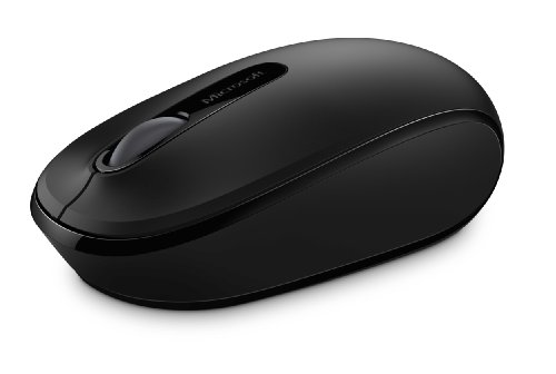 Microsoft 1850 Mobile Mouse Wireless, Nero
