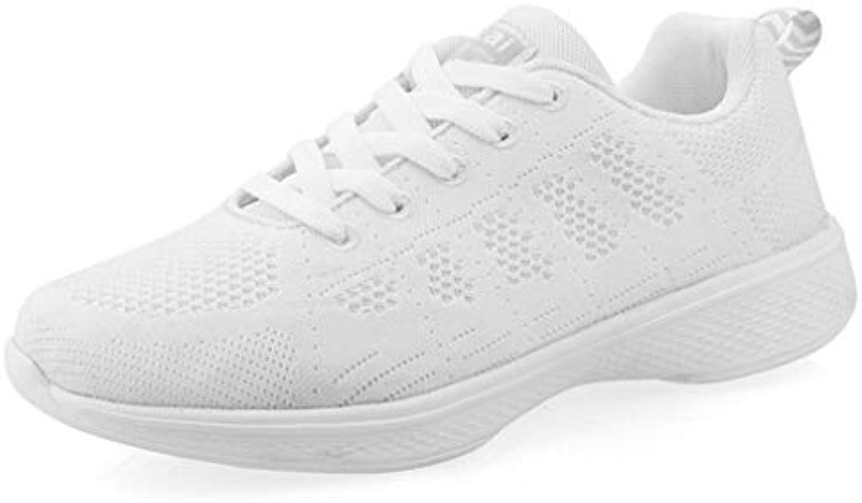 Scarpe da Summer donna Mesh Spring & Summer da Comfort Sneakers Walking Shoes Scarpe piatte Travel Platform Round Toe Bianco... Parent bdcc78