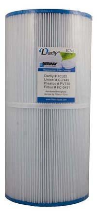 Sunrise Spa Filter (Sunrise Spas Filter , C-7449, PVT50P, SC740)