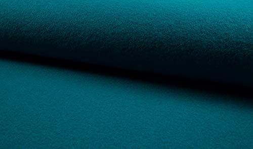 Fabrics-City 5051 - Tela 100% Lana Virgen (620 g), Color Turquesa