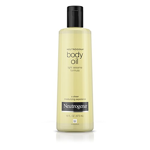 Neutrogena Body Oil Light Sesame Formula, 16 Fluid Ounce (473