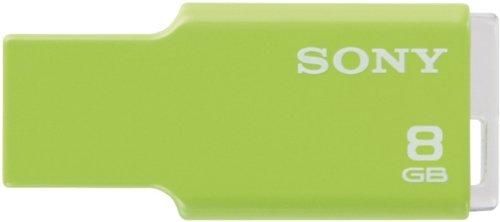 Sony Microvault Style 8GB Speicherstick USB 2.0 limettengrün (Vault Gb Usb Memory 16 Flash)