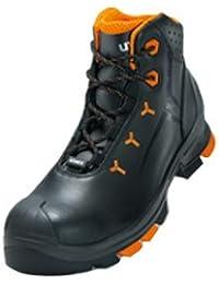 """UVEX de seguridad """" UVEX 5,08 cm S2 sin metal; Al aire libre-sole; Muy ligero; Material superior: cuero; La mitad de zapatos o botas; Caballos gr., Gris"""