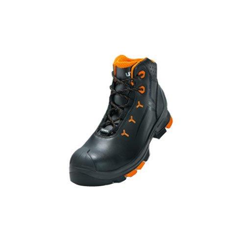Uvex protagonista, scarpa  Uvex 5,08 cm S2 cebbra senza; Outdoor-suola; Particolarmente leggero; Materiale esterno: pelle; Mezzo una scarpa o stivale; Vari gr. Stiefel