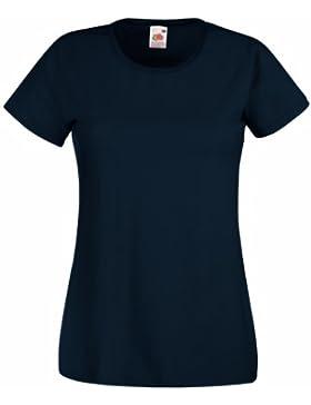Fruit Of The Loom- Camiseta de manga corta Valueweight para mujer