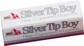 Gizeh Tubeuse Silver Tip Boy et lot de 1000 tubes avec filtres