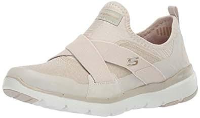9ba16544c4a Skechers Women s Flex Appeal 3.0-Finest Hour Slip On Trainers ...