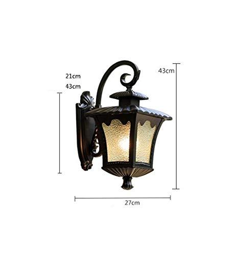 ZHYXZ Lámpara de Pared Impermeable