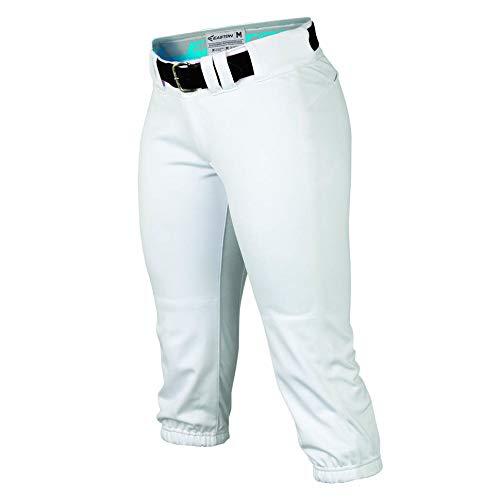 Easton Damen Prowess Fastpitch Hose, Damen, Baseball Clothing Pants Womens Fastpitch, weiß, X-Small