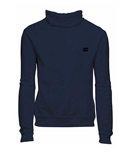 Jack & Jones sweatshirt Jcogola high neck sweat slim Navy Blazer
