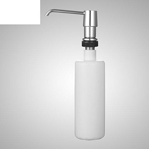 Küche Spüle Seifenspender/Edelstahl Kunststoff-Flaschen/hand Sanitizer Flaschen-A (Spülen Sanitizer)