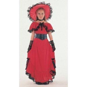 Imagen de scarlet  disfraz de época para niña, talla 7  9 años cc406 kit 1