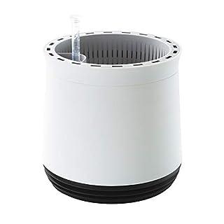AIRY Pot - Luftreiniger Blumentopf Für Allergiker - Patentierter Pflanzen-Topf Als Natürlicher Raumluftfilter Gegen Schadstoffe, Haus-Staub, Pollen, Geruch (Schwarz)