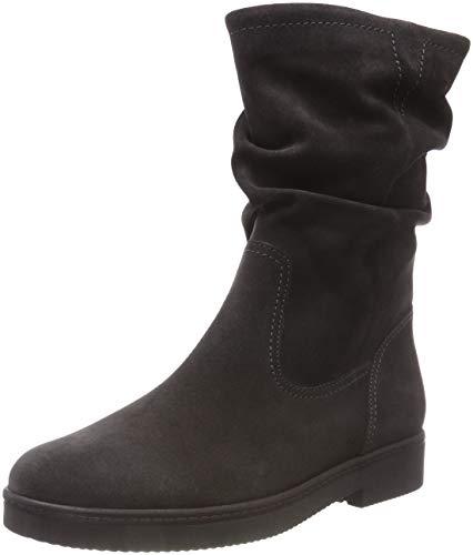 Gabor Shoes Damen Fashion Hohe Stiefel, Grau (Pepper 19), 43 EU