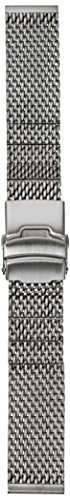 Hadley Roma MB3856RWSE 20 White Metal Watch Band
