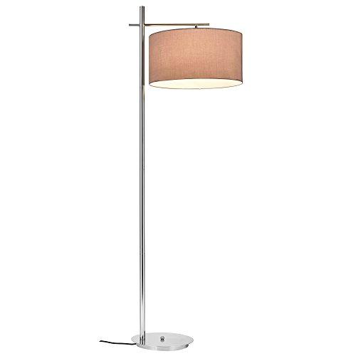 lux.pro] lampadaire - London - (1 x Socle E27)(155 cm x Ø 48 cm) Lampe sur Pied Lampe de Plancher Lampe Lampe de Salon