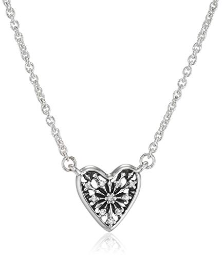 Pandora Collar con colgante Mujer plata - 396370CZ-45
