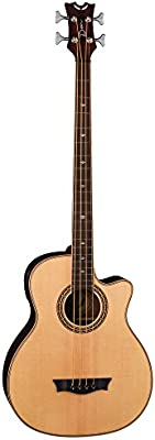 Dean Exotica Supreme–Guitarra electroacústica (con Cutaway de satén, color marrón