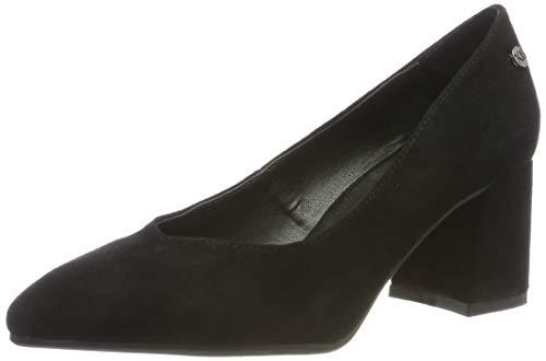 XTI 35109, Zapatos tacón Punta Cerrada Mujer, Negro
