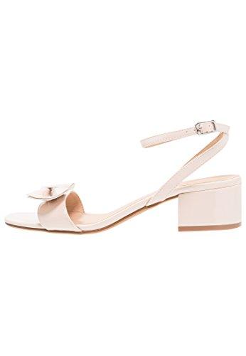 Anna field sandali con tacco medio da donna, nudo, 38