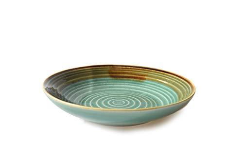 The Chef Collection – Assiette Creuse de la Collection Art de Porcelaine Design Artistique. 20,5 x 4,1 cm