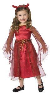 Palmer Kinder Halloween Mädchen Kleinkind Little Red Devil Kostüm, Größe 2-3 (Red Devil Kostüm Für Kinder)