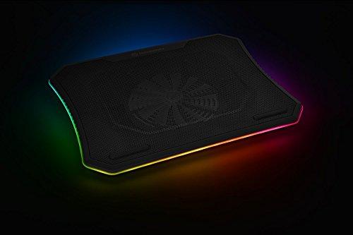 "Thermaltake Massive 20 RGB Steel Mesh Panel Single 200mm Fan 10\""-19\"" Laptop Notebook Cooling Pad CL-N014-PL20SW-A"