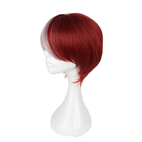Cosplay Short Hair Wig, Anime Charakter,Red
