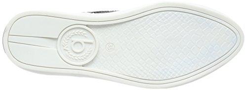 Bugatti - V66016, Scarpe da ginnastica Donna Nero (Nero (Nero 100))
