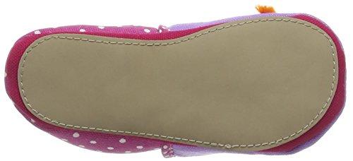 Giesswein Bergdorf, Chaussures Bébé quatre pattes (1-10 mois) bébé fille Rose (306 Fuchsia)