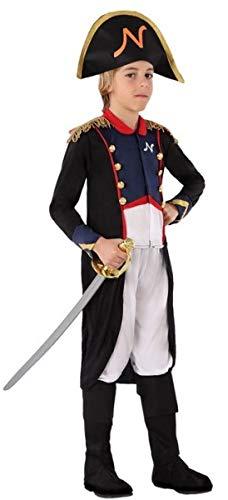 Renaissance Kostüm Jungen - Fancy Me Jungen Napoleon Admiral Seemann Renaissance Kostüm Outfit 3-12 Jahre