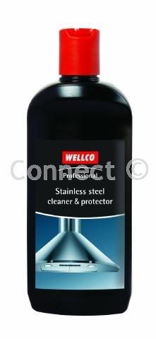 Wellco Professional limpiador de acero inoxidable (WELLCO, accesorios)-Limpia y Protege todas las...