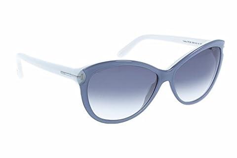 Tom Ford Für Frau 0325 Grey / Pearl White / Gradient Blue Kunststoffgestell Sonnenbrillen