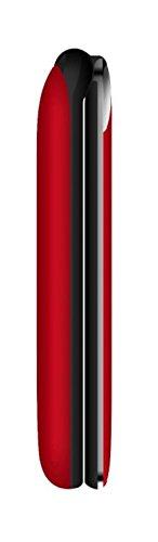 Funker F3 Rojo Classic Flip Tel  fono M  vil Libre Pantalla 2 4  con tapa