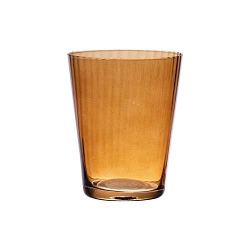 Table Passion - Verre venise ambre 37 cl (lot de 6)