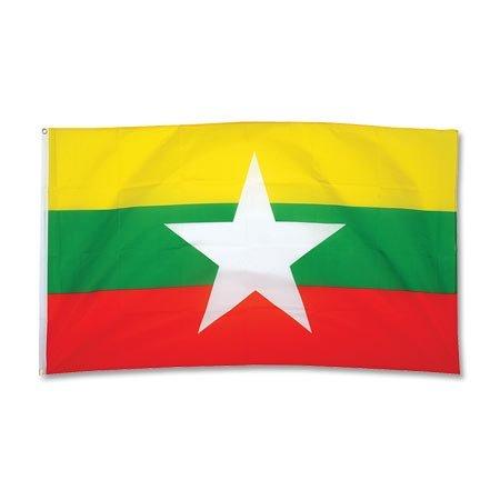 Flagge Myanmar - 90 x 150 cm