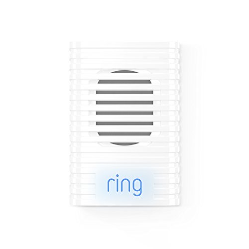 Ring 8AC3S5-0EU0 Chime for Ring video doorbell,Connects with all Ring devices, white