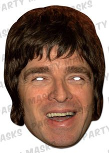 Oasis - Party Mask Noel Gallagher