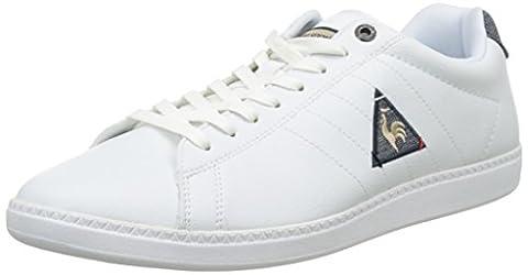 Le Coq Sportif Courtcraft S/Nylon, Basses Homme, Blanc (Optical White), 42 EU