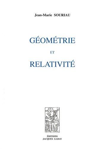 Géométrie et relativité
