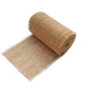 Jute Jutestoff Dekoband 25cm breit Tischband, Tischläufer für Hochzeit rustikal 25 laufmeter lang