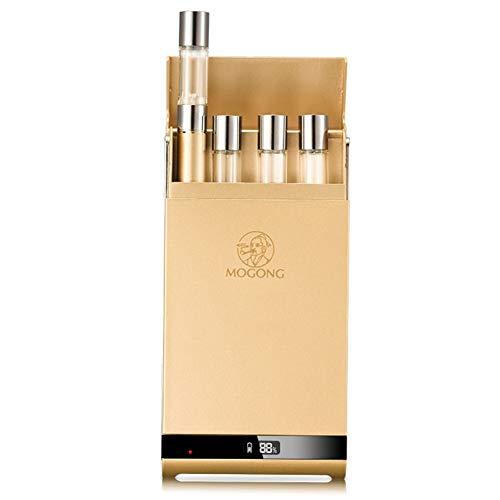 Hopeson Elektronische Zigarette Starter Kit Mit USB OLED Automatische Ladebox,1100mAh Charge, Keine Nikotin, Keine E Flüssigkeit Mini E Zigarette
