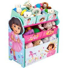 Dora the Explorer - Multi-Bin Toy Organizer hot new design from 2014 by Dora the Explorer (Multi Bin Toy Organizer)