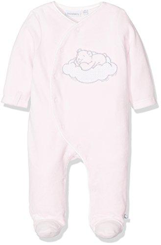 Noukies 1PCS Cocon, Pyjama Bébé Fille, Rose (Rose), 12 Mois (Taille Fabricant: 12M)