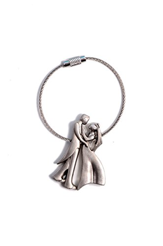 Romantic Lover Couple Key Chain ( Metal )  available at amazon for Rs.125