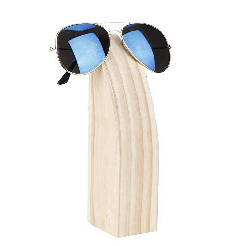 Nannday Brillengestell Ständer, Holz Brillenständer für Home Store